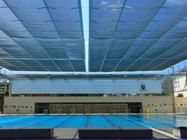 St Margarets Anglican College Pool Shade