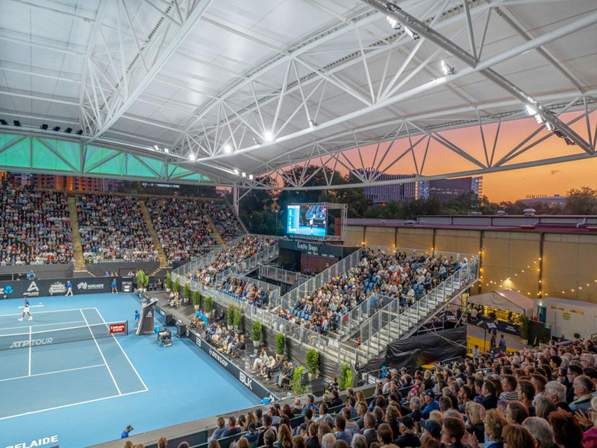 Adelaide Tennis Centre Court Canopy - Makmax Australia 01