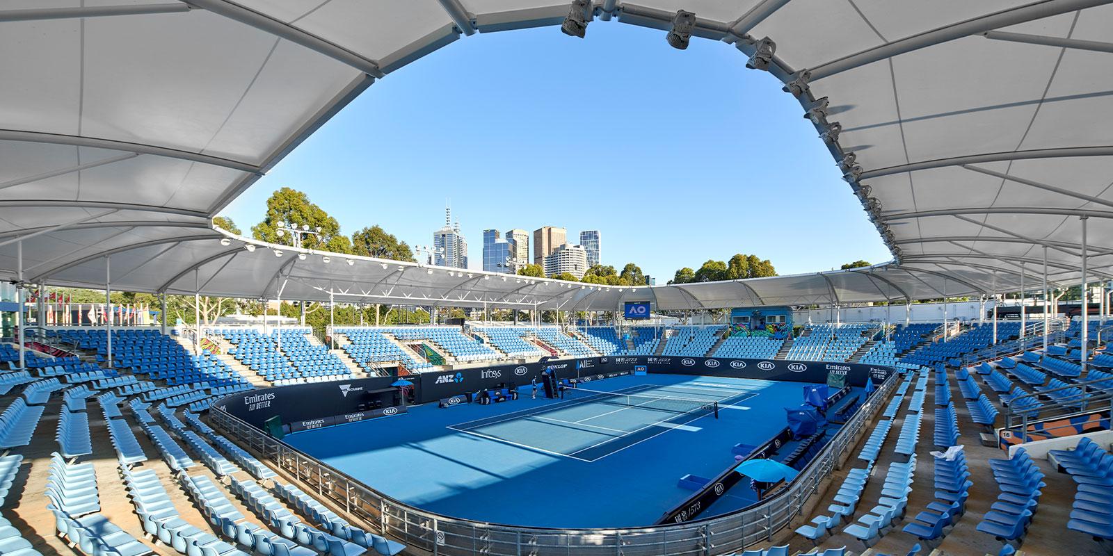 Australian Open Show court 3 Shade Canopy