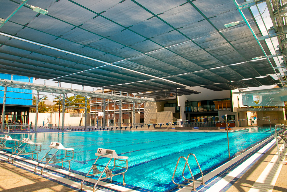 St Margarets Pool Variable Shade System