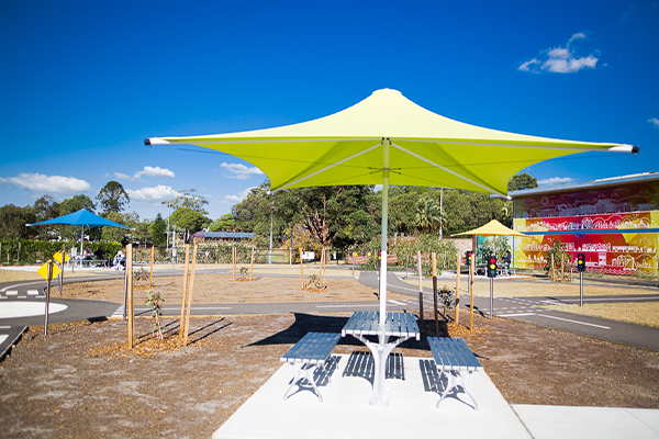 Ryde Scooter Park Umbrellas