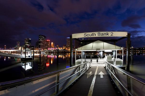 Southbank Citycat Terminals