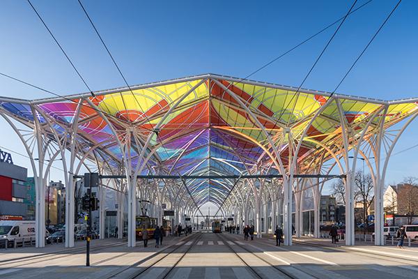 Lodz Tram Station, Poland
