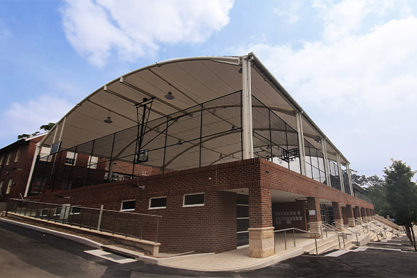 Knox Grammar Sports Court Canopy