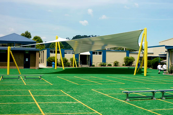St Josephs College Outdoor Recreation Shade