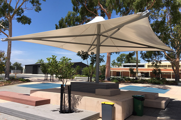 Willeton SHS WA, Monaco Modular Umbrella