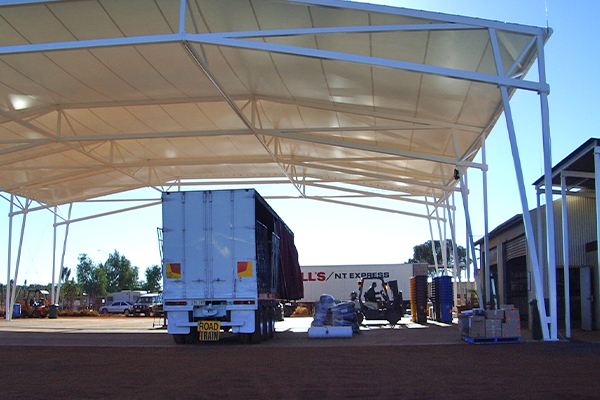 Ayres Rock Freight Distribution Centre Canopy