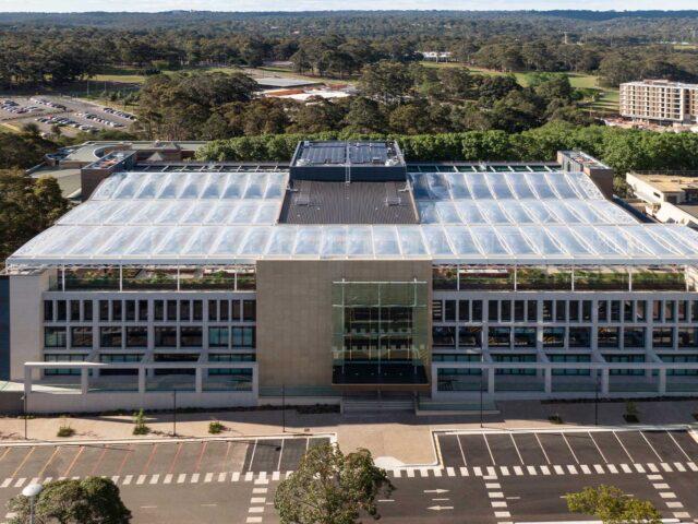 Macquarie University Arts Precinct ETFE Roof