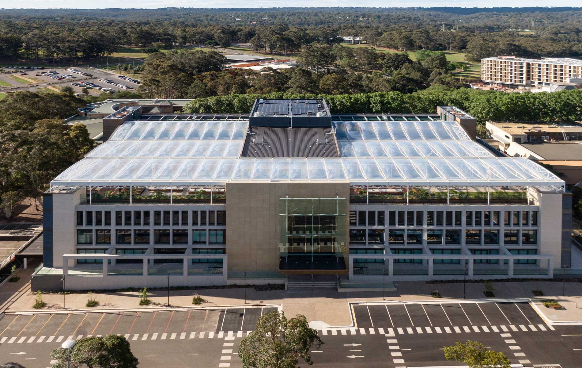Macquarie University Arts Precinct ETFE Roof