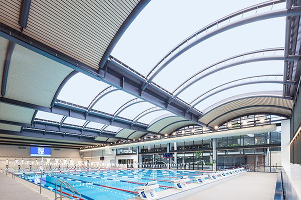 Shore Grammar Swimming Pool ETFE Skylight
