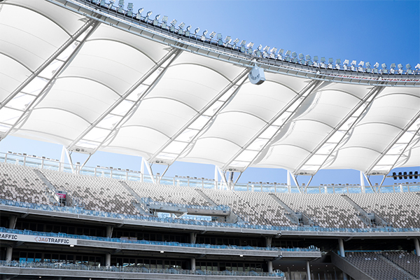 Optus Stadium, Perth- Halo Roof Section