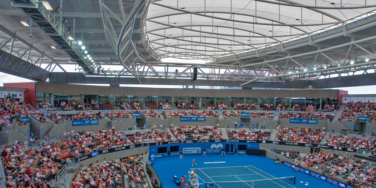 Pat Rafter Arena Centre Court Canopy