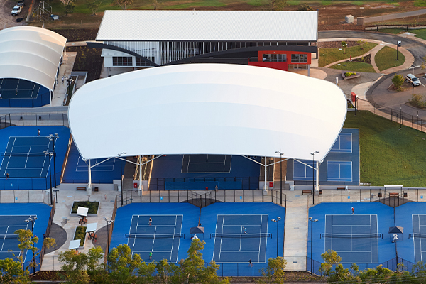 Sports Court Canopy