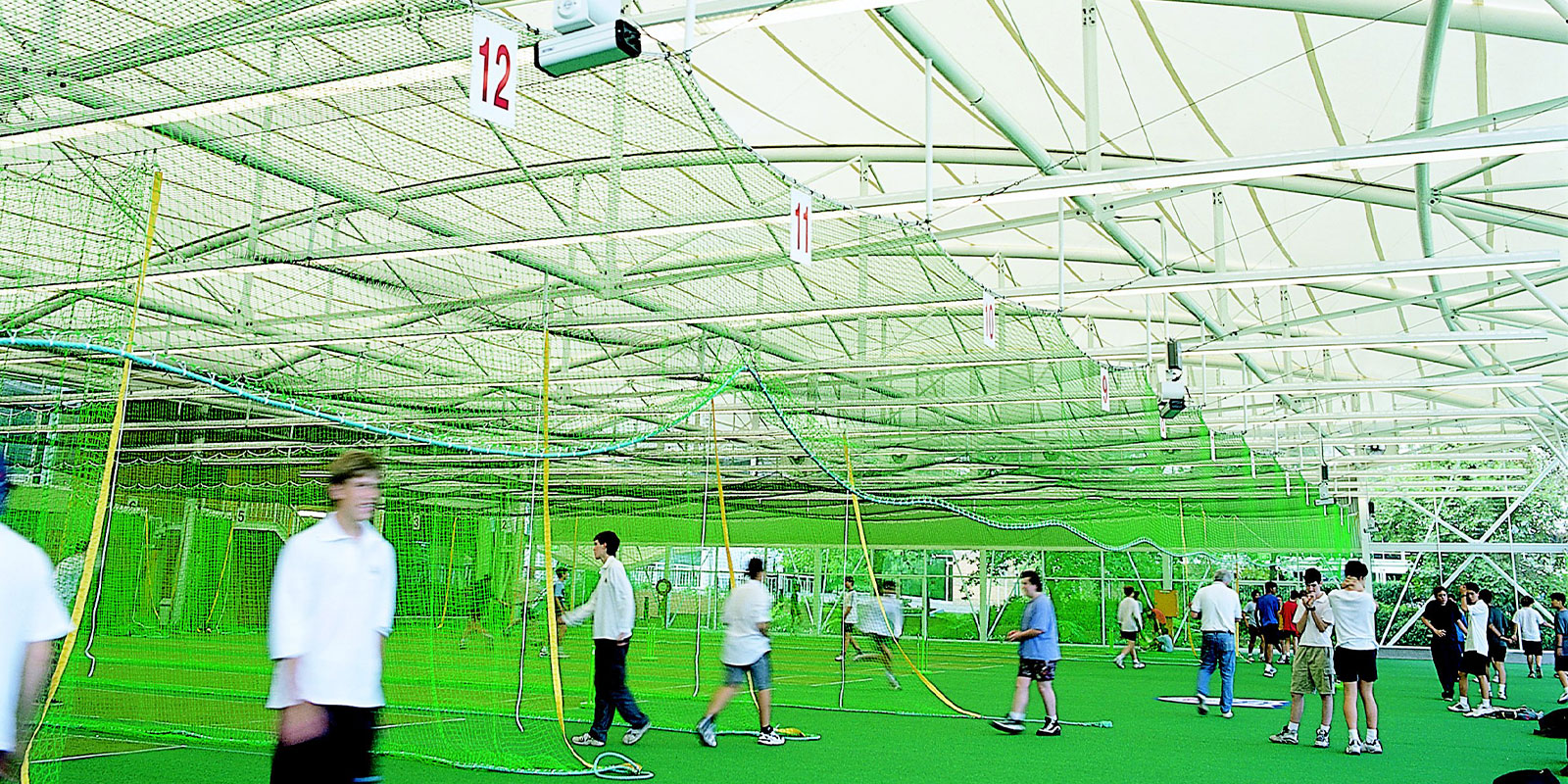 Sydney Cricket Ground Indoor Practice Wickets