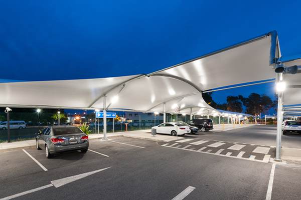 Covered Walkways at Gold Coast Airport