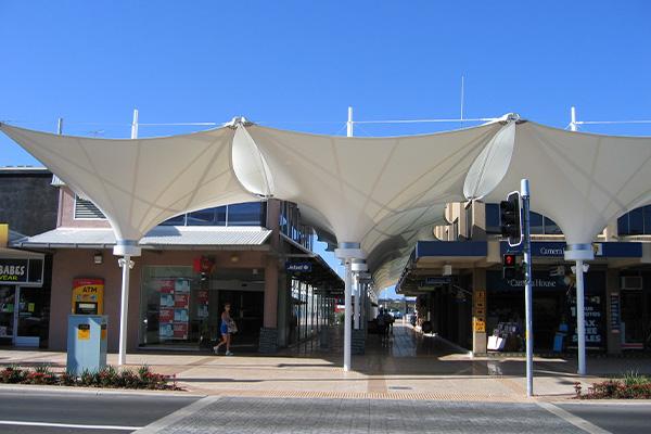 Balina Shopping Precinct Shade Structures