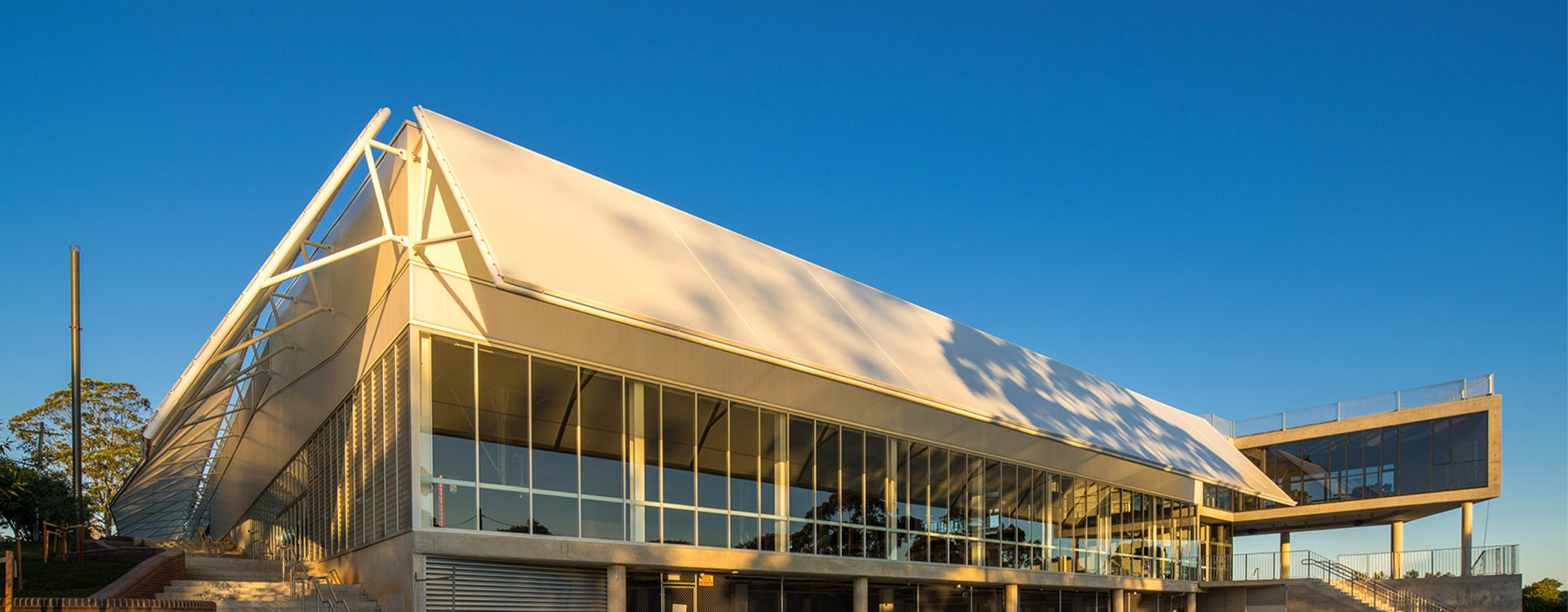 Barker College Rosewood Centre Fabric Awnings