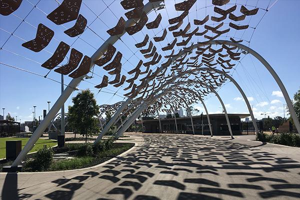 The Arbour Walkwat, Perth Stadium, WA