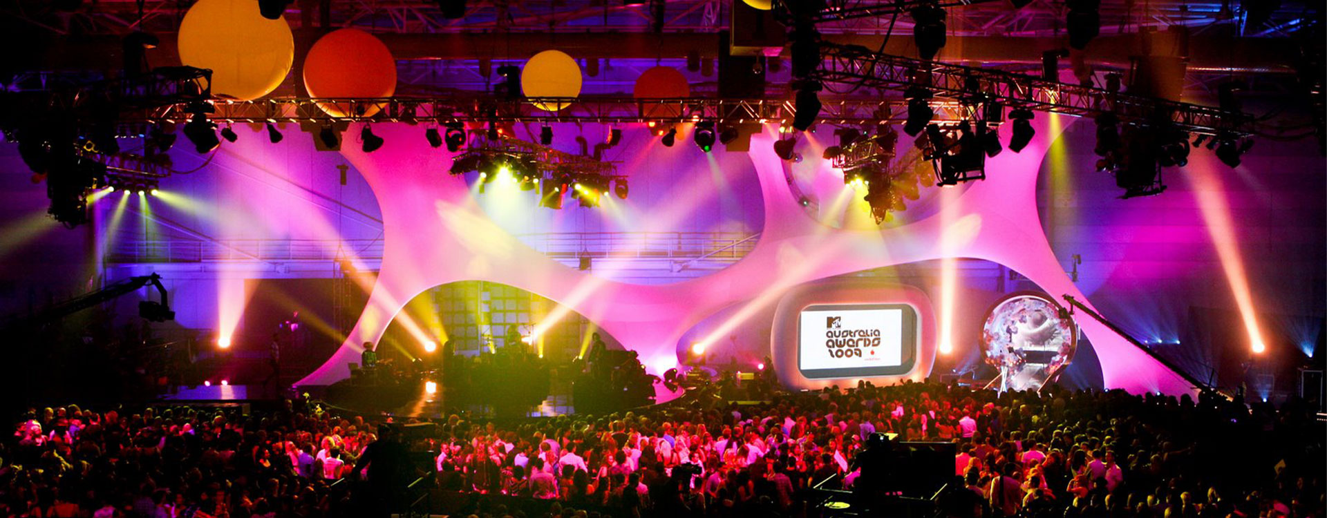 2009 MTV Australia Music Awards Stage Lycra Structure