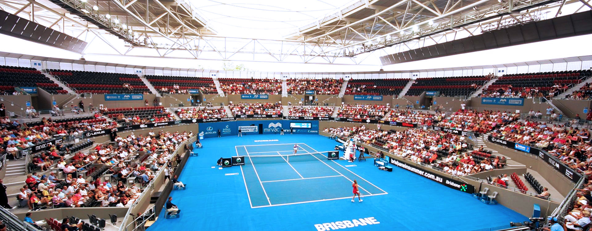 Pat Rafter Arena Centre Court Roof