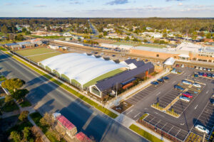 Moama Bowling Green Canopy Aerial