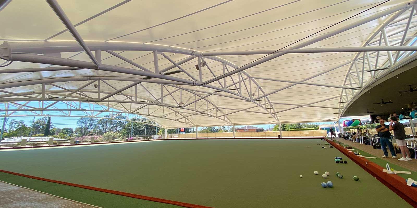 Club Pine Rivers Bowls Canopy