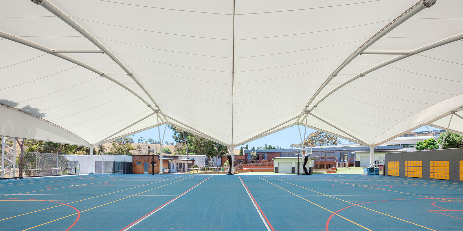 Salesian College Sunbury Basketball Court