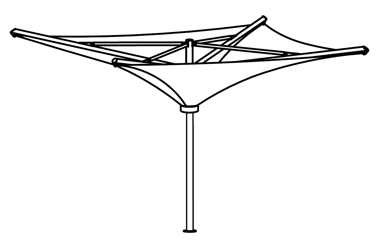 St Tropez Side View Drawing