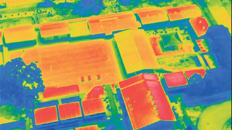 Heatmap of a school in Parramatta