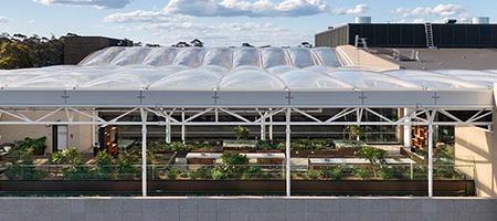 Macquarie University ETFE Roof