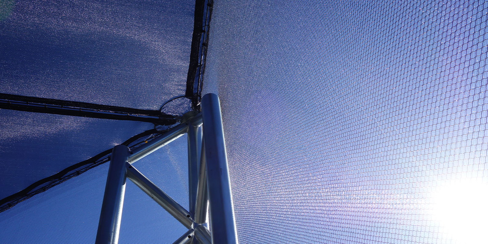 MakMax Hail Net Protection Canopy Detail