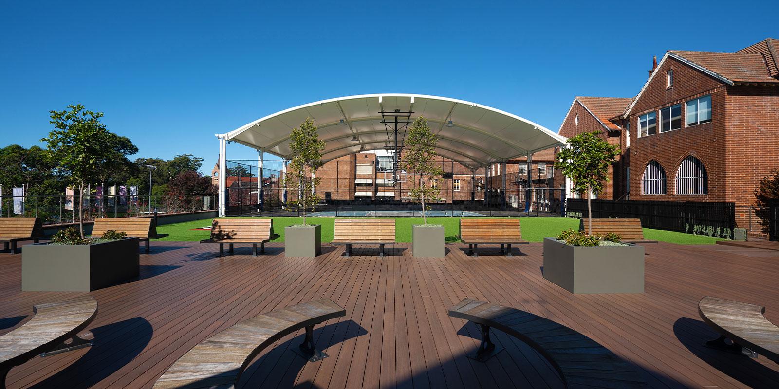 TensoSport Canopy, Knox Grammar Sydney NSW