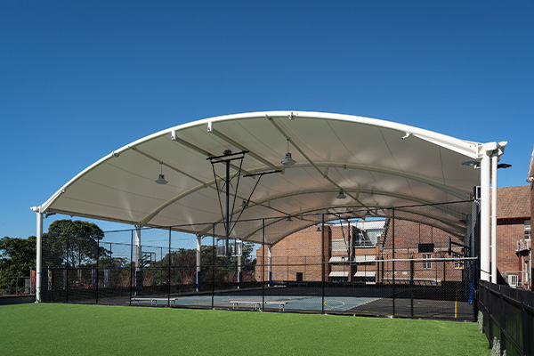 Knox Grammar Sports Court Canopy