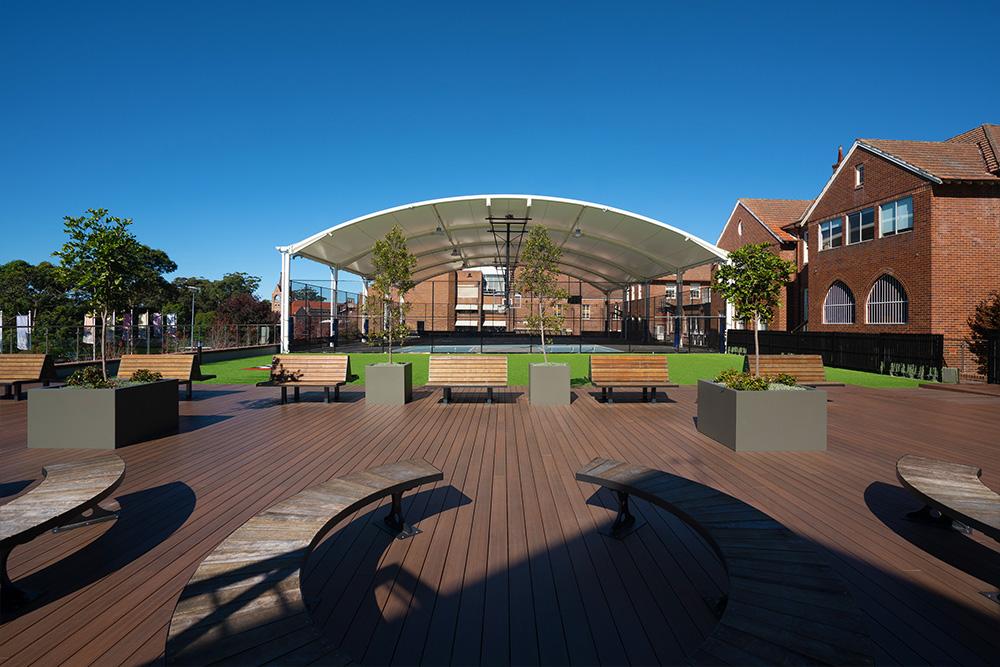 Knox Grammar MacNeil Sports Facility TensoSport Canopy