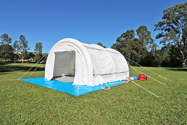 The MakQuick Shelter Hybrid Air Tent