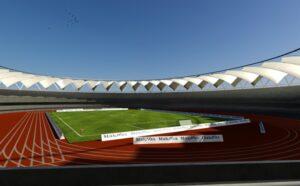Jawaharlal Nehru Stadium Roof Render