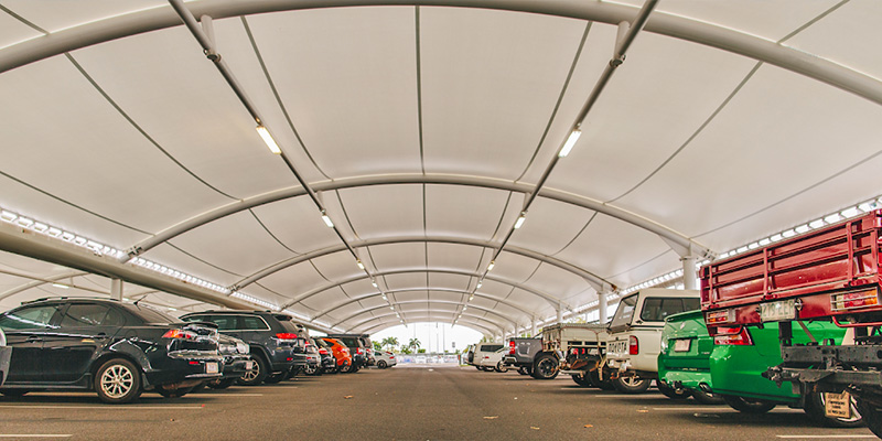 Full Cover Carpark Shade