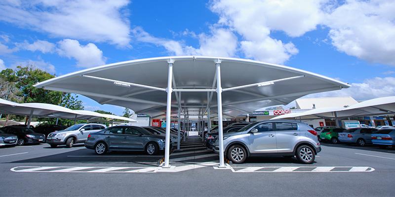 Double Bay Carpark Shade