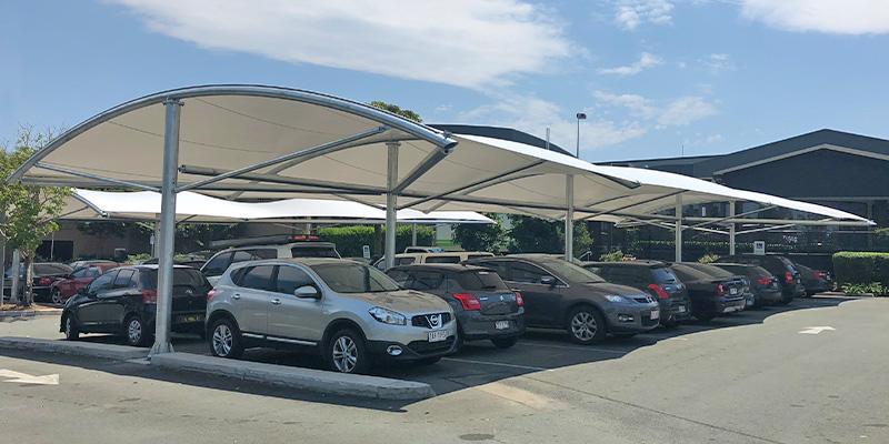 TensoCar Carpark Shade