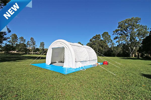 A MakQuick Shelter Hydrid Art Tent