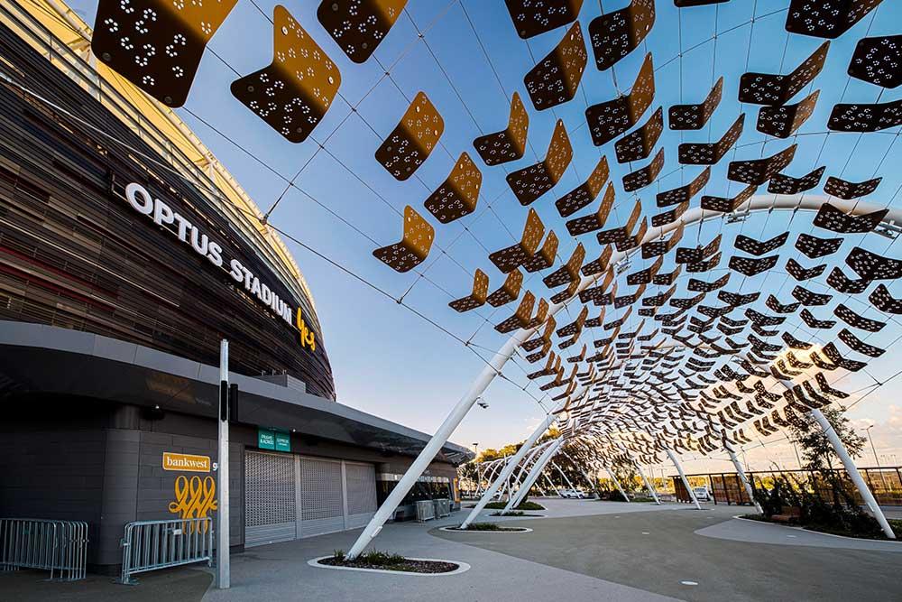 Perth Stadium Arbour Walkway