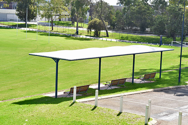 Small Shade Structure