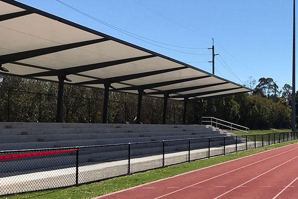 Small grandstand shade