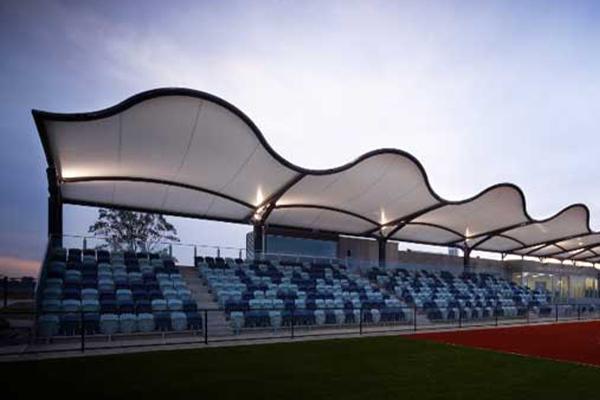 Small sports grandstand, VIC