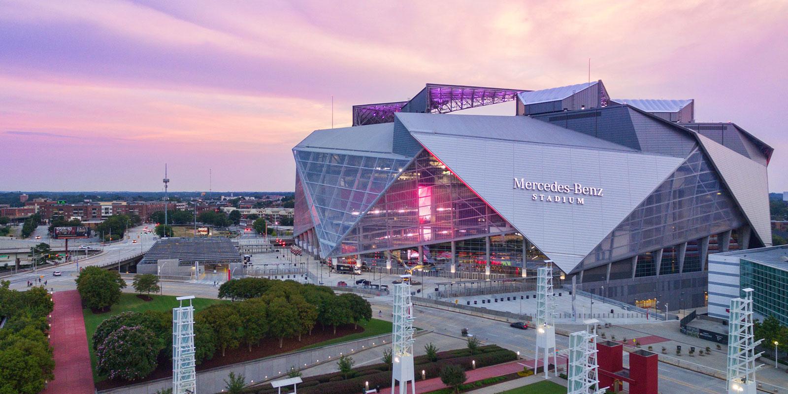 Mercedez Benz Stadium, Atlanta