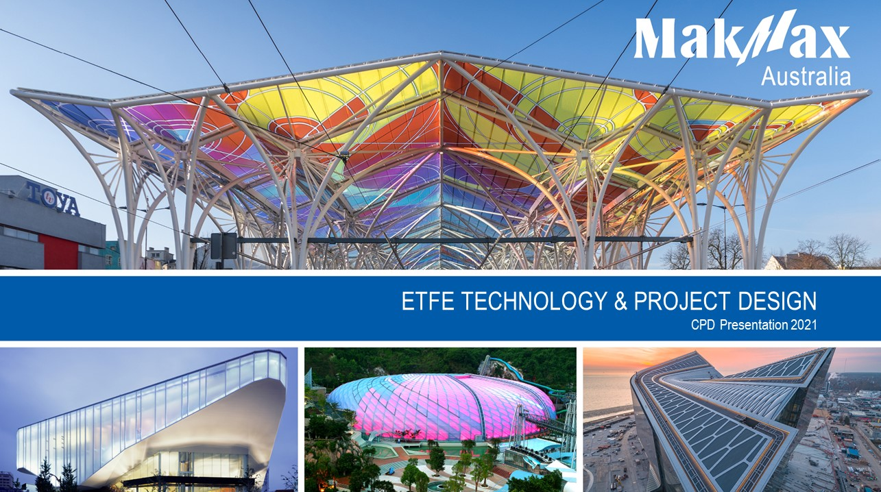 ETFE CPD Presentation Cover