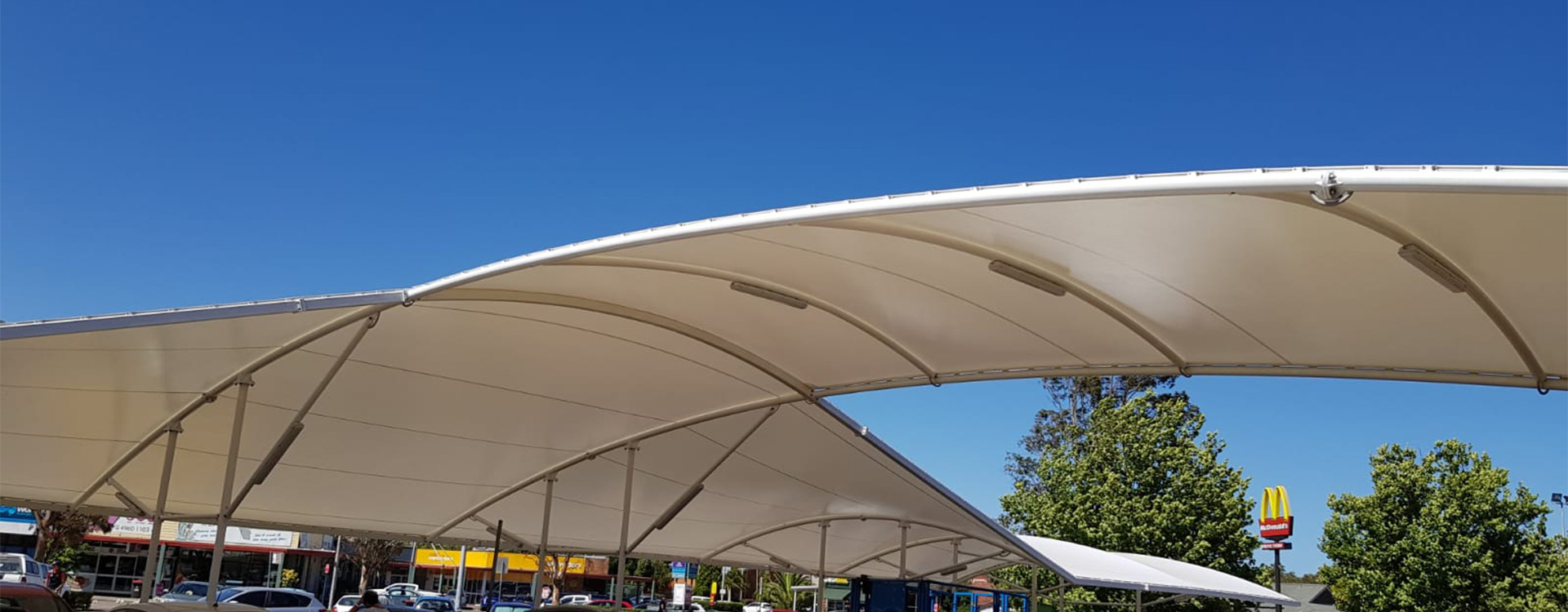 Woolworths Mayfield Carpark Shade