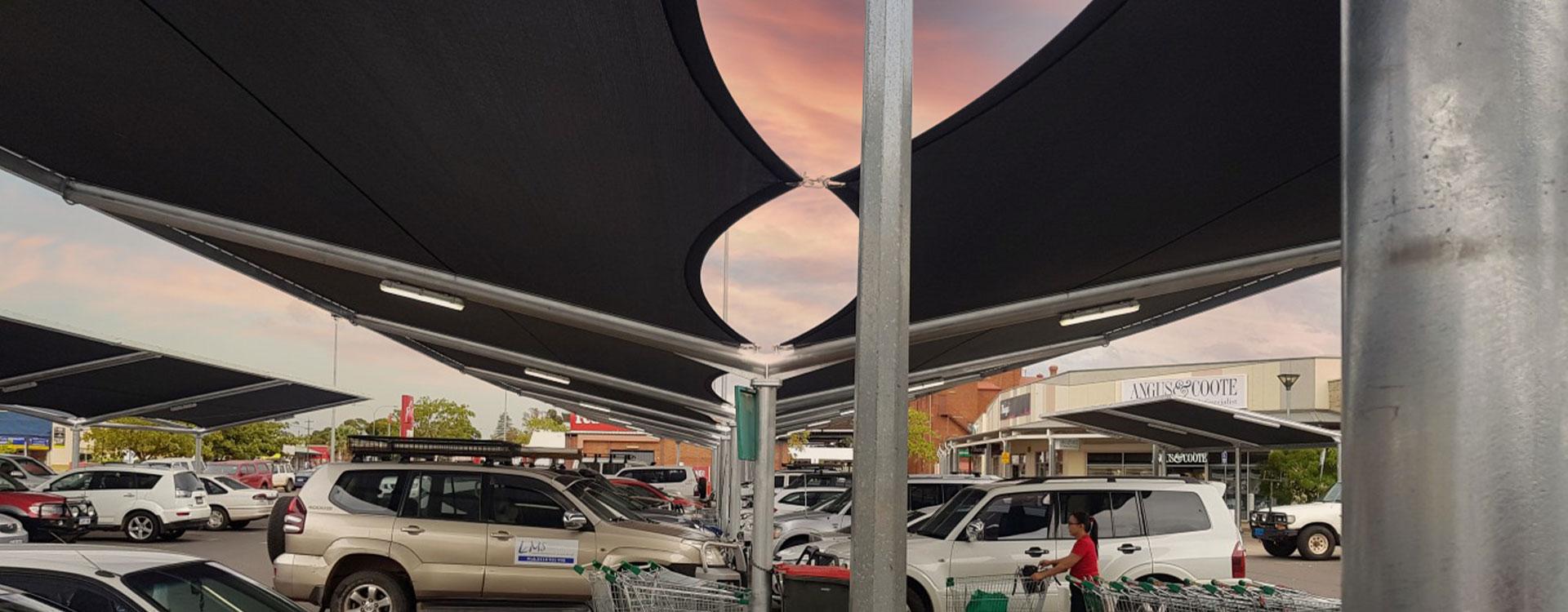 Kalgoorlie Central Carpark Shade