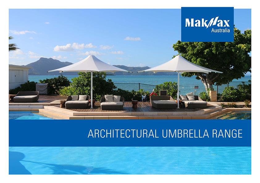 Architectural Umbrellas Brochure Cover