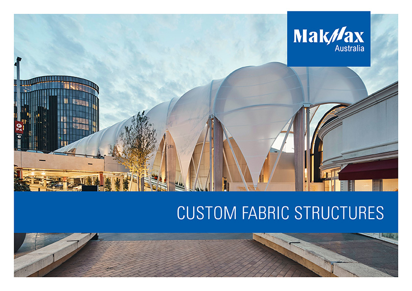 Custom Fabric Structures Brochure Cover